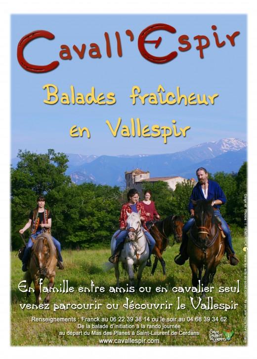 Cavall'espir, mountain horse trail ranch.