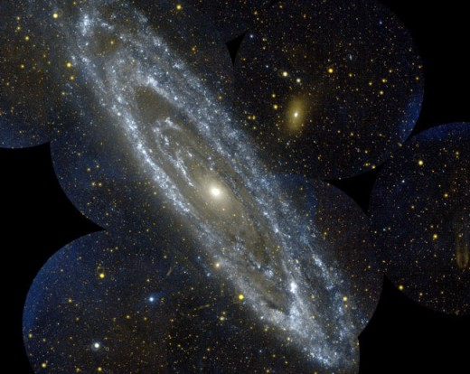 NASA, galaxy Andromeda, Hubble telescope