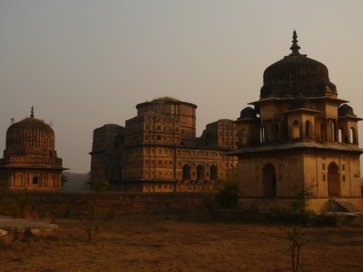 As the sun set over the temples, those G&Ts tasted great