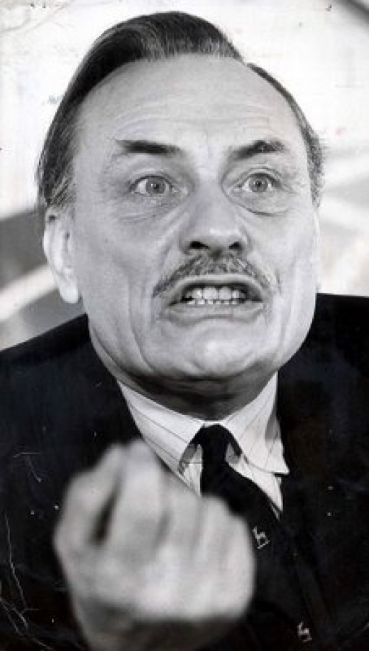 Enoch Powell, who made the famous 'Rivers of Blood' speech much misquoted.