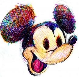 Happy Mickey by rlz