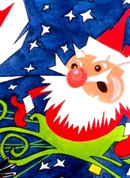 Quizzical Santa by rlz