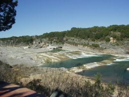 Perdenales Falls, Johnson City, Texas (Great Swimming Hole and place to ride tubes!)