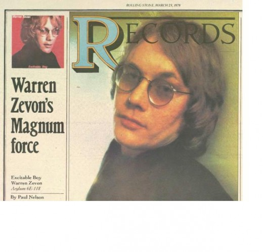 Warren Zevon (as above)