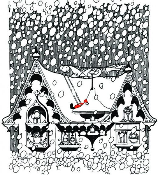 Santa Slide by rlz