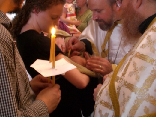 ORTHODOX CHRISMATION (CONFIRMATION)