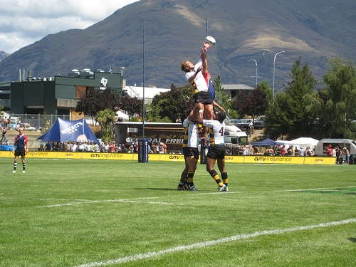Rugby, Queenstown Photo: michailski
