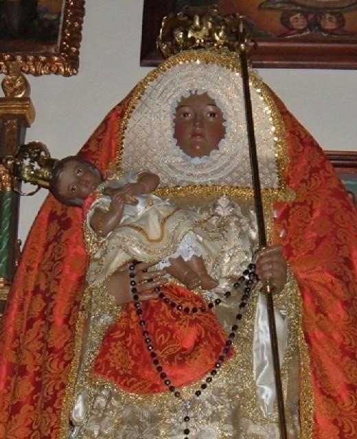 Santiago del Teide's Black Madonna