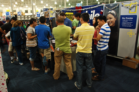 Black Friday at Best Buy
