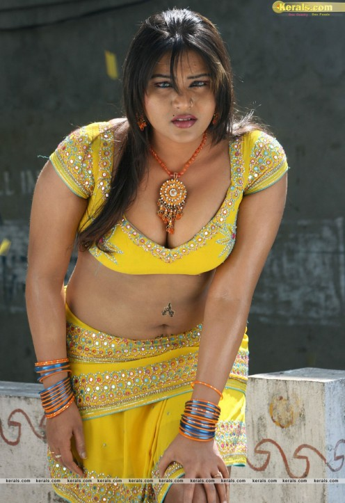 Bold Hot Telugu Film Item Girl Priya Sexy Cleavages Gallery Image 15