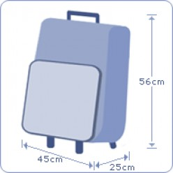 Hand Cabin Luggage Size