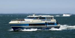 Sea Eagle iii Ferry traveling to Rottnest Island