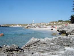 The Basin Beach and Lighthouse on Rottnest Island