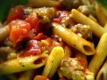 Quick And Easy Pasta Dishes , Italian Sausage and Peppers With Penne