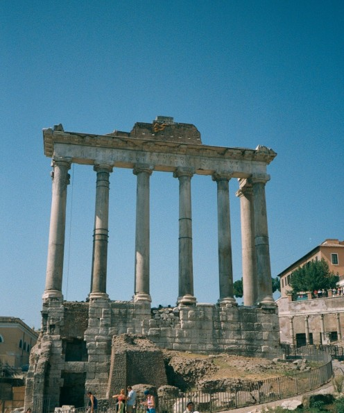 Photo taken in  Rome, The Forum area.