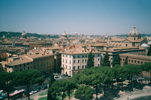 Rome, the modern city with a history.