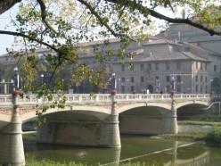 autumn an Italian city - Parma.