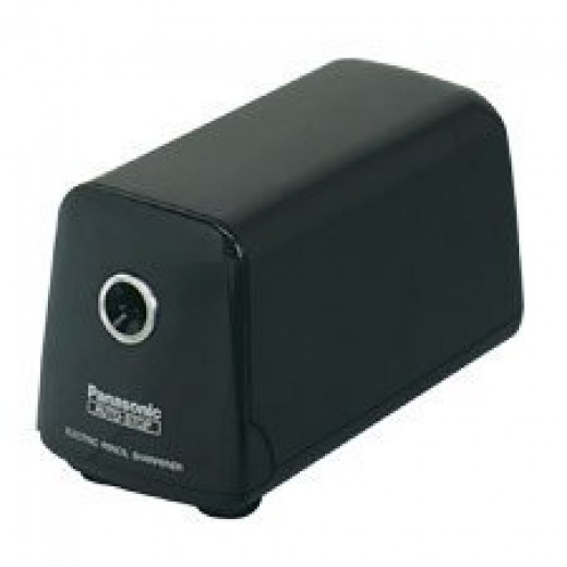 Black automatic pencil sharpener