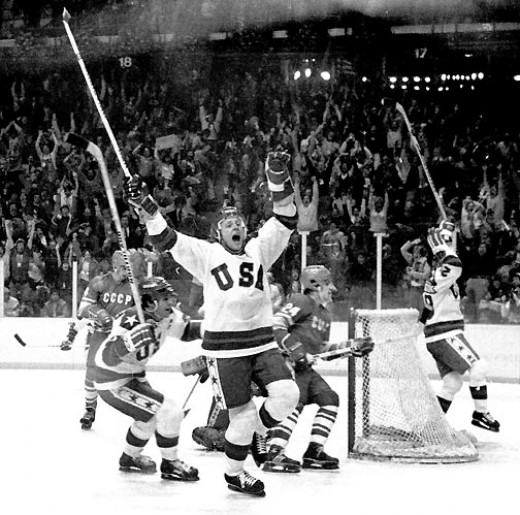 Miracle on Ice: USA defeats USSR at the 1980 Winter Olympics