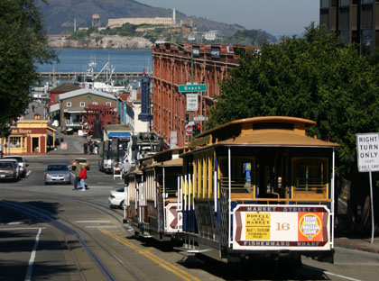 Cable Cars: a great way to see the city