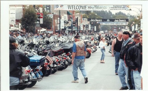 Sturgis Bike Rally Welcome