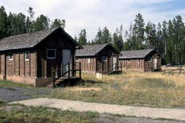 Yellowstone National Park   Lodge Cabins Available for overnight stays