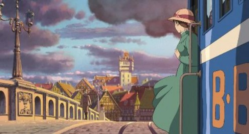 Howl's moving castle - Top ten Manga movies
