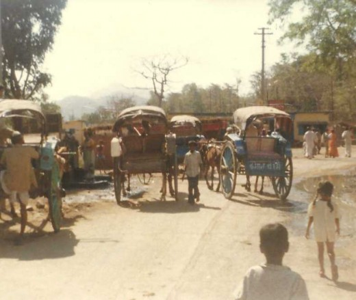 Common transportation in India