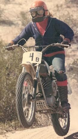 Racing my 1969 Penton 125cc
