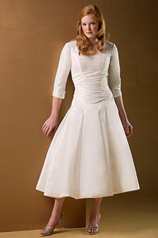 A Modest Dress