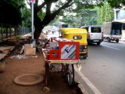 6 Bihari's Shop on Mobile Cycle wheels.