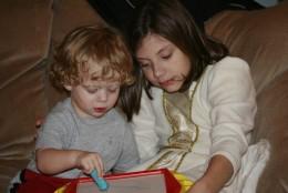 Children love interaction.