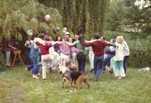 Celebration gathering