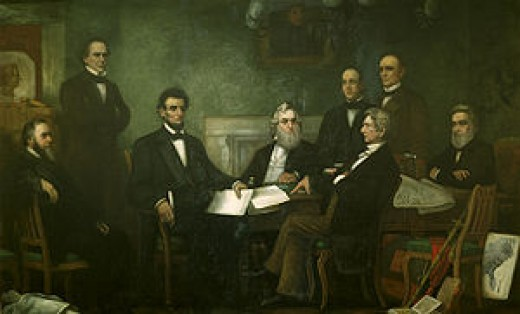 abraham lincoln cabinet members 2