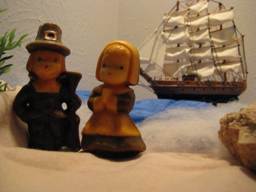 Have your children re-enact the voyages of the explorers and pilgrims.
