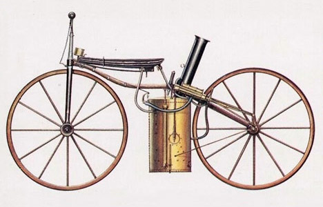 Sylvester Howard Roper's 1868 steam powered bicycle gave a whole new meaning to steamed buns.