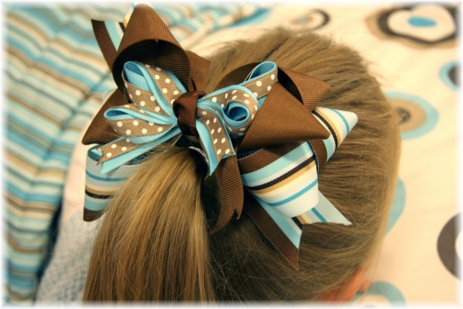 Cute Hair Bow for Girls