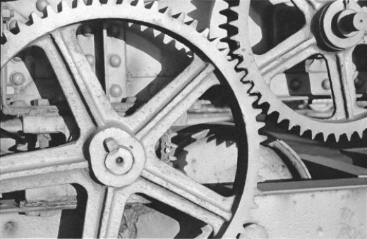 Even the gears have teeth