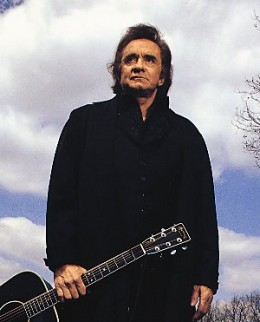 Johnny Cash, never afraid to share his faith.