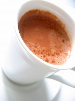how to make real hot chocolate from scratch