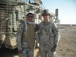 My son who left his young wife and little baby girl Kaylee, serving in Afghanistan