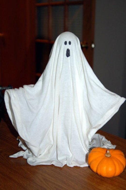 What ghosts are said to look like.