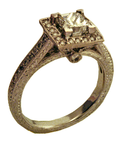 One of the best things about vintage rings is that they have a very unique, distinctive look