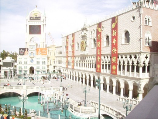 The Venetian during the day