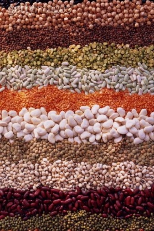 LENTILS, SPLIT PEAS, AND BEANS ARE A GOOD SOURCE OF DIETARY FIBRE