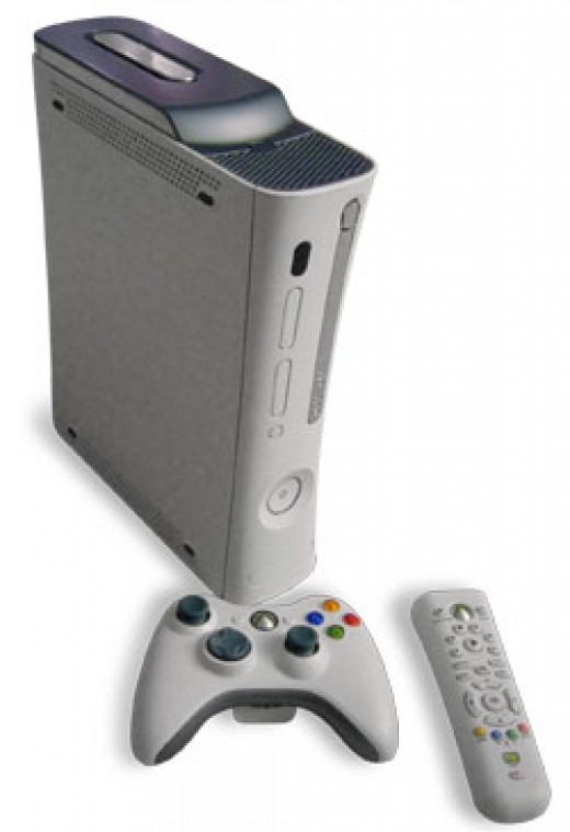 Xbox360 with controller