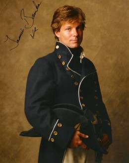 Jamie Bamber as Archie Kennedy in the Hornblower miniseries