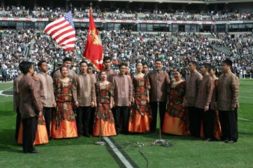 Photo Courtesy of Sir Victor Saldana and philippinemadrigalsingers.com