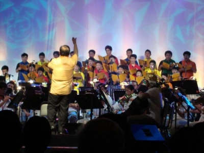 LPBC in one of their tour performance abroad. Photo courtesy of lpbcsja.com
