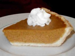 Mmmm! Scrumptious Homemade Pumpkin Pie!